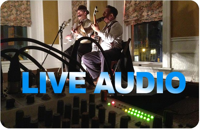 Live audio sound operator