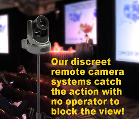Discreet video Cameras for meetings