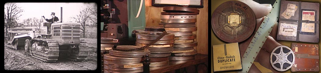 Old 16mm industrial films transferred to video