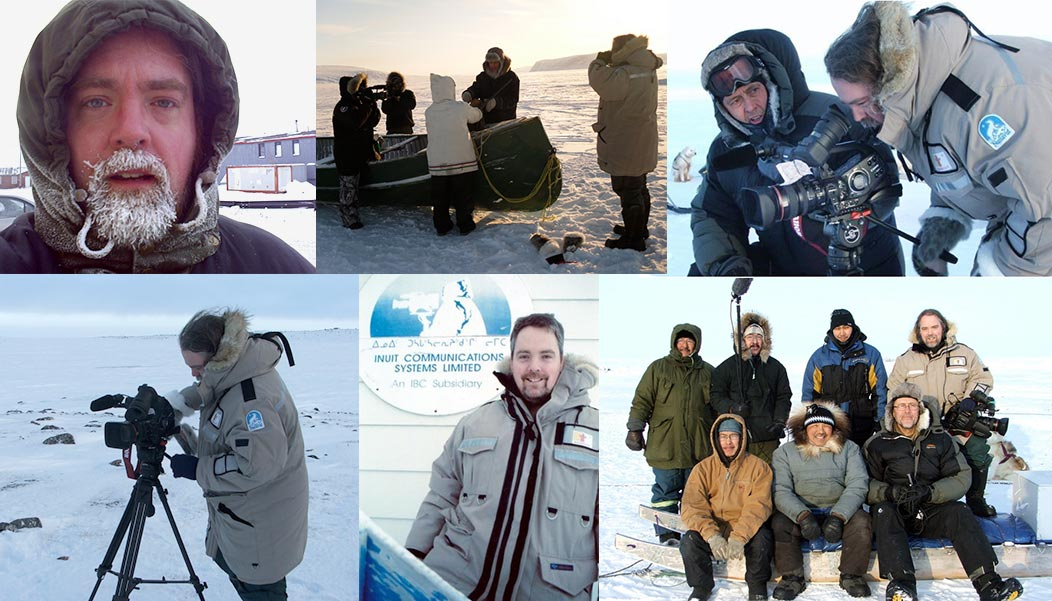 Video Production and documentary work in Iqaluit and Clyde River, Nunavut in Canada's arctic