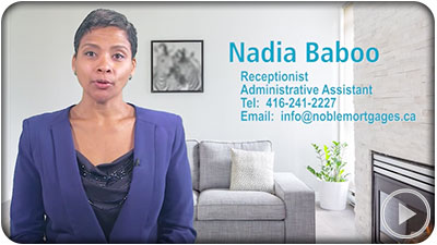 A orientation video produced for Noble Mortgages - Toronto Ontario