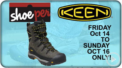 A TV ad for Shoeper footwear retail store - Kitchener, Guelph, Orangeville