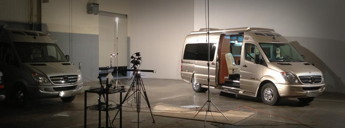 Video Production of a Roadtrek Motorhome Product Tour by Hawkeye Films for Kitchener, Waterloo, Cambridge, Toronto and all of Southern Ontario