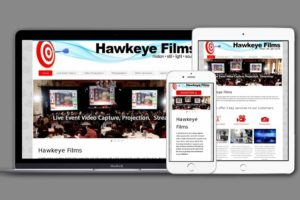 Website Design by Hawkeye Films