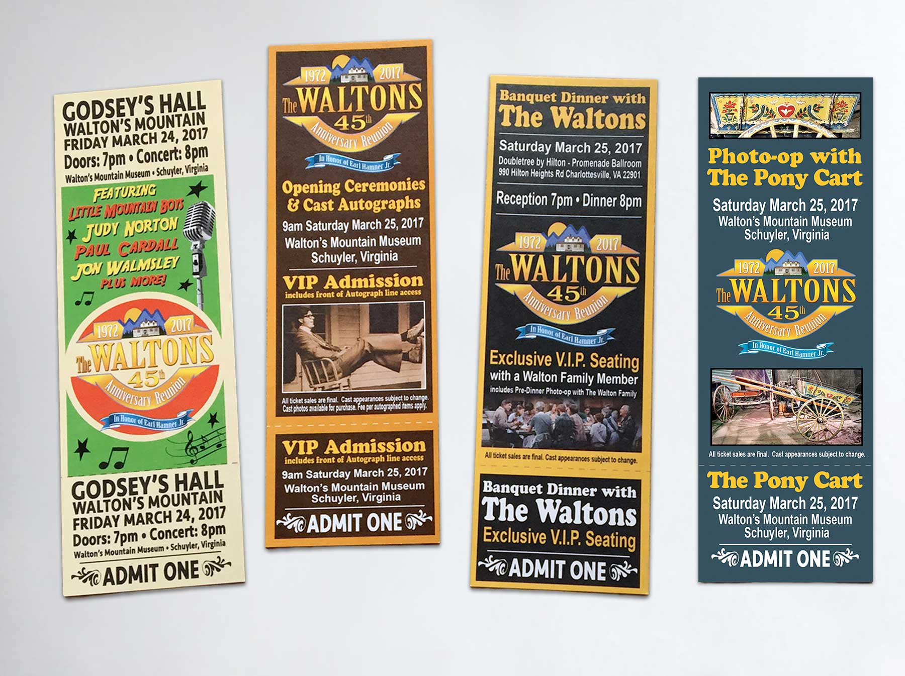 Event Tickets - Print Media