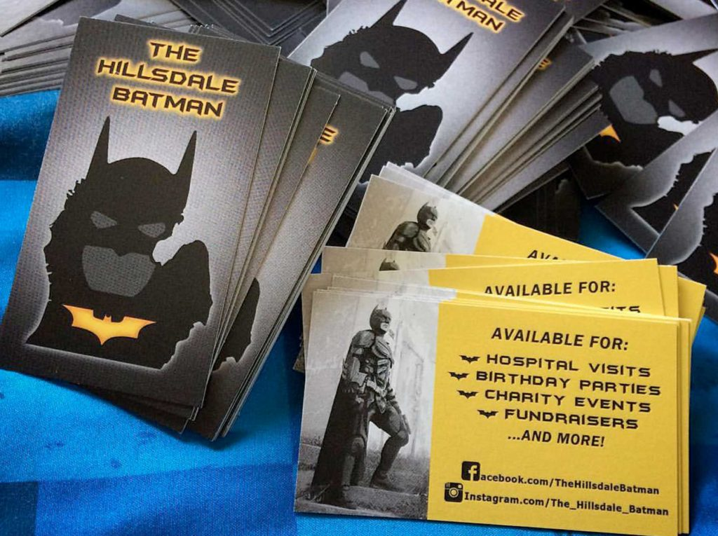 The Hillsdale Batman - Business Cards