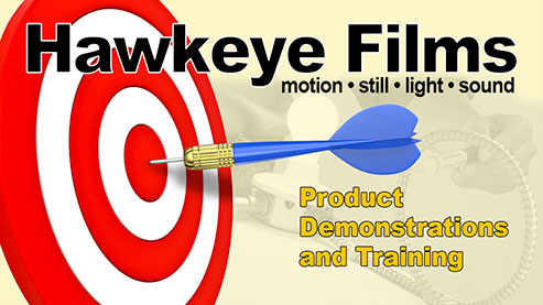 Hawkeye Films - Product and Demonstration Videos - High Quality Video Production for Kitchener, Waterloo, Cambridge, Toronto, Southern Ontario, Canada