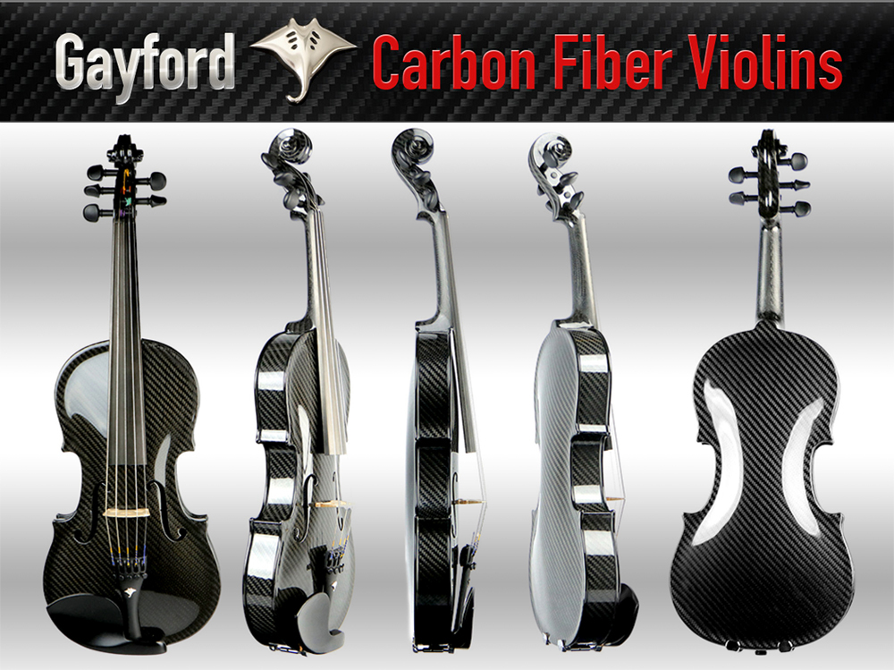 Gayford Carbon Strad Violin