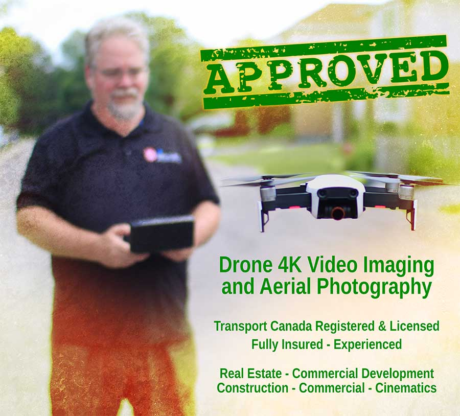 Drone 4K video imaging aerial photography Kitchener Waterloo Ontario