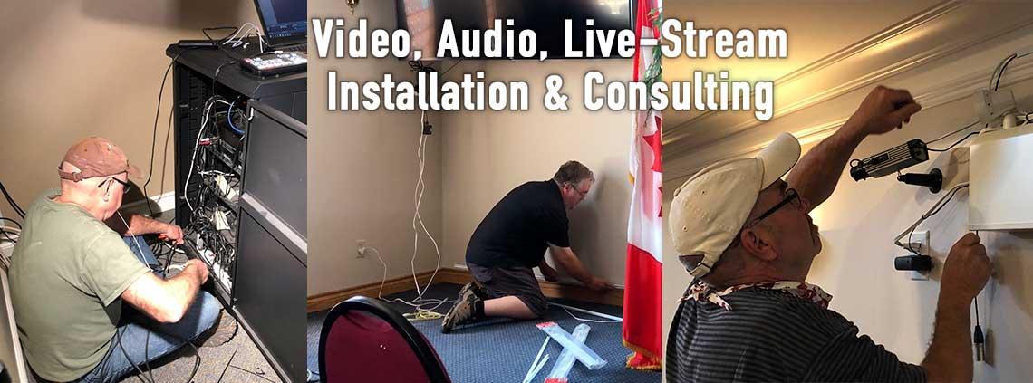 Video Audio Live - Stream installation & Consulting