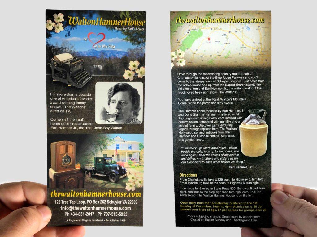 Tourism Rack Card